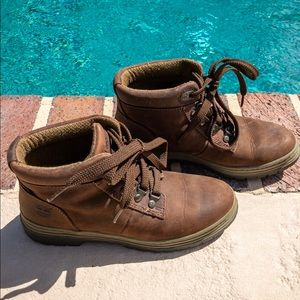 Timberland genuine leather upper lace up boot